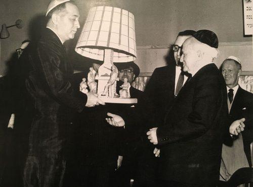 Jack Rosenhek, David Ben-Gurion